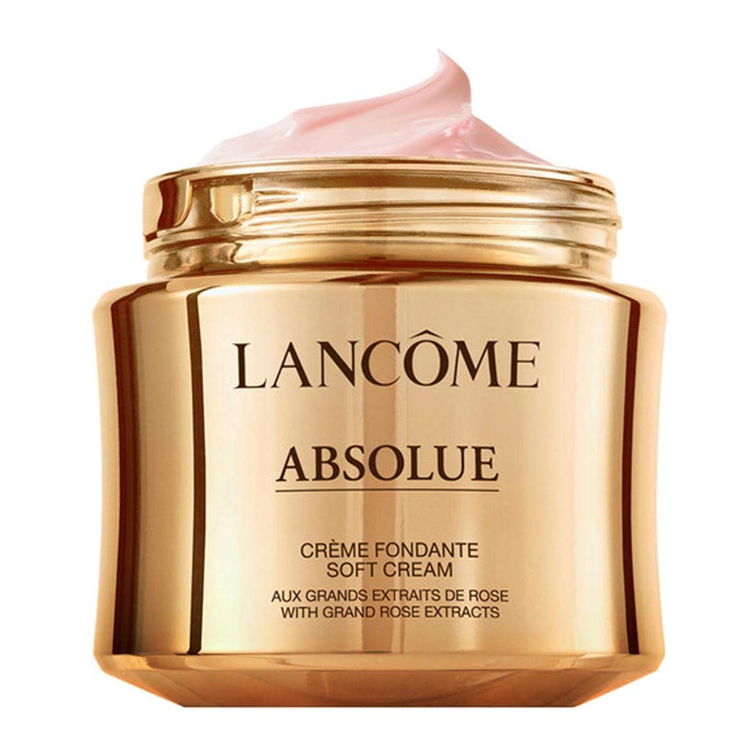 揺れる治療吐くランコム Absolue Creme Fondante Soft Cream Refill 60ml/2oz並行輸入品