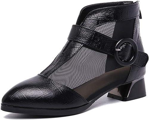 LANSEL Souliers Simples, Chaussures de Printemps et d'été, Chaussures pour Femmes, Bottes Plates