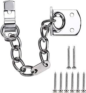Skelang Door Chain Front Door Limiter Chain Door Guard Gate Chain Lock Narrow Design to Fit All Door Types or Sizes Securi...