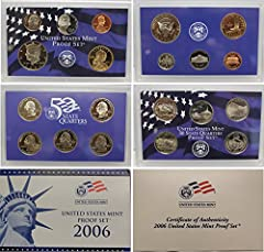 Comes in Original Government Packaging! 10 Coin Set - Includes a Penny, Nickel, Dime, 5 Statehood Quarters, Half Dollar, Dollar Proof coins are struck twice using specially prepared dies and planchets delivering coins with mirror-like finishes and ex...