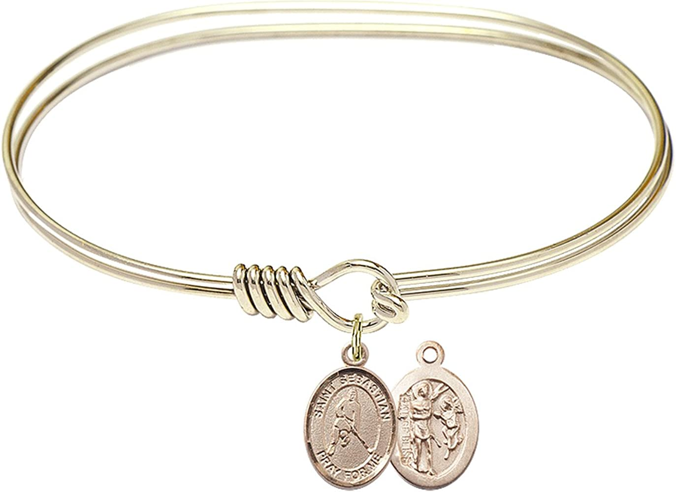 DiamondJewelryNY 40% OFF Cheap Sale Eye Luxury goods Hook Bangle Bracelet St. with a I Sebastian