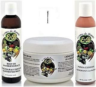 Essence De Beaute Collagen Cream - Body Oil - Papaya Soap + Miao Pencil 4150 (Cream-Body Oil-Papaya Soap + Miao Pencil 4150)