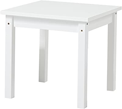 Hoppekids MADS Tisch, Pine, Weiss, Klein