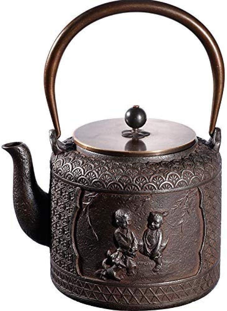 GUOCAO Regular dealer Teapot Tea Sets Iron Pots New life I Cast