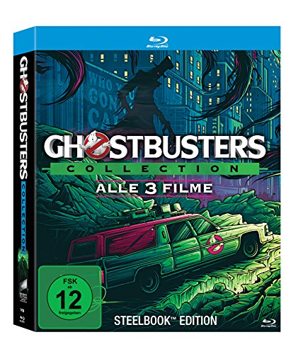 Ghostbusters Collection (PopArt SteelBook Edition 1-3) [Blu-ray] [Limited Edition]