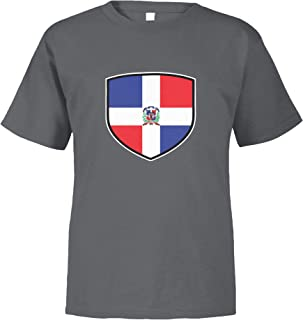 Amdesco Dominican Republic Shield Dominican Flag Toddler T-Shirt