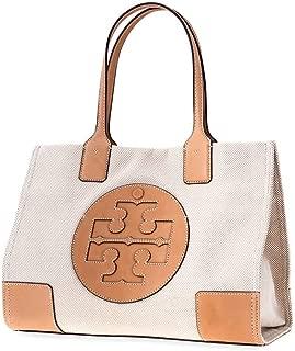 Women's Ella Canvas Tote Tan Handbag Mini, Natural, Natural