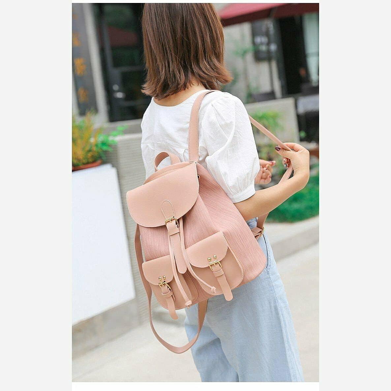Girls Anti-Theft Backpack Rucksack Handbag Travel Fashion Shoulder School Bag US vg-1421-26