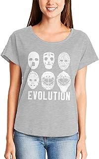 Evolution of Goalie Masks - Ice Hockey Sports Ladies Dolman