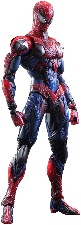 Square Enix Variant Play Arts Ka Figur, Spider-Man (Marvel Comics)