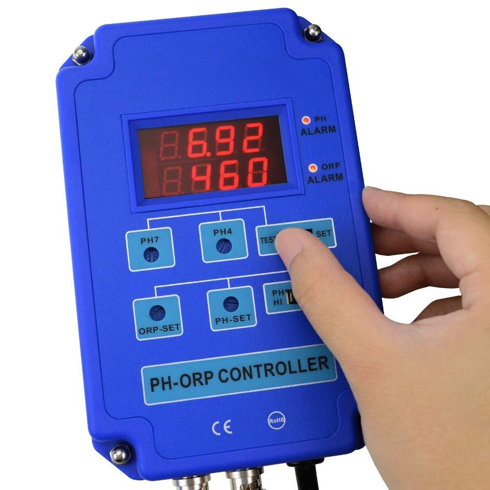 Sensor Medidor PH PH ORP Meter 2 En 1 Monitor Controller w ...