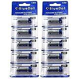 BlueDot Trading 12 Volt Alkaline Dry Cell Batteries, 10 Count
