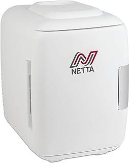 comprar comparacion NETTA Mini Nevera 5L - Bebidas de cerveza portátil pequeño para dormitorio, cuidado de la piel, oficina con función de enf...