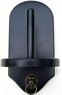 Iszy Billiards Wall Mount Pool Table Cone Chalk Holder Choose Mahogany, Black or Dark Oak Finish