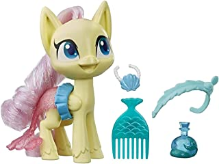 My Little Pony Fluttershy Potion Dress Up Figure -- 5-Inch Yellow Pony Toy with Dress-Up Fashion Accessories, Brushable Ha...