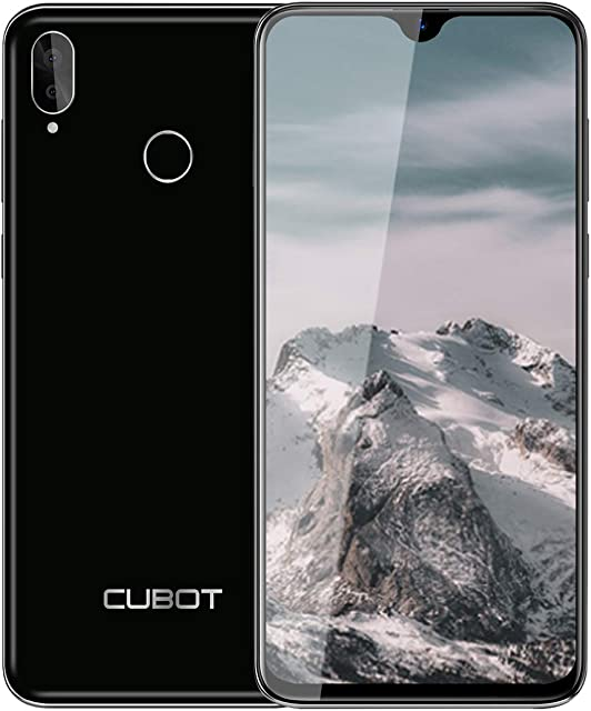 Teléfono Móviles (2020) CUBOT R15 Pro Smartphone Libres Pantalla Completa de 6.26 Pulgadas 3GB RAM +32GB ROMAndroid 9.0 Cámara 16MP+13MP 4G Dual SIMMóvil Libre 128GB TF Ampliable Tipo C-Negro