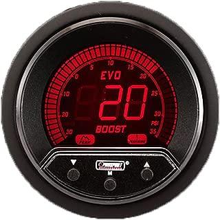 Prosport Universal 52mm Premium Evo Electrical Boost Gauge Red/White/Blue/Green