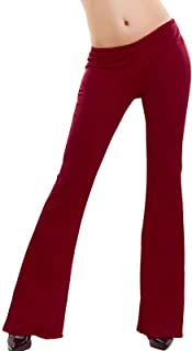 Toocool - Pantaloni Donna Campana Aderenti Zampa Elefante Elasticizzati Hot Nuovi AS-2462