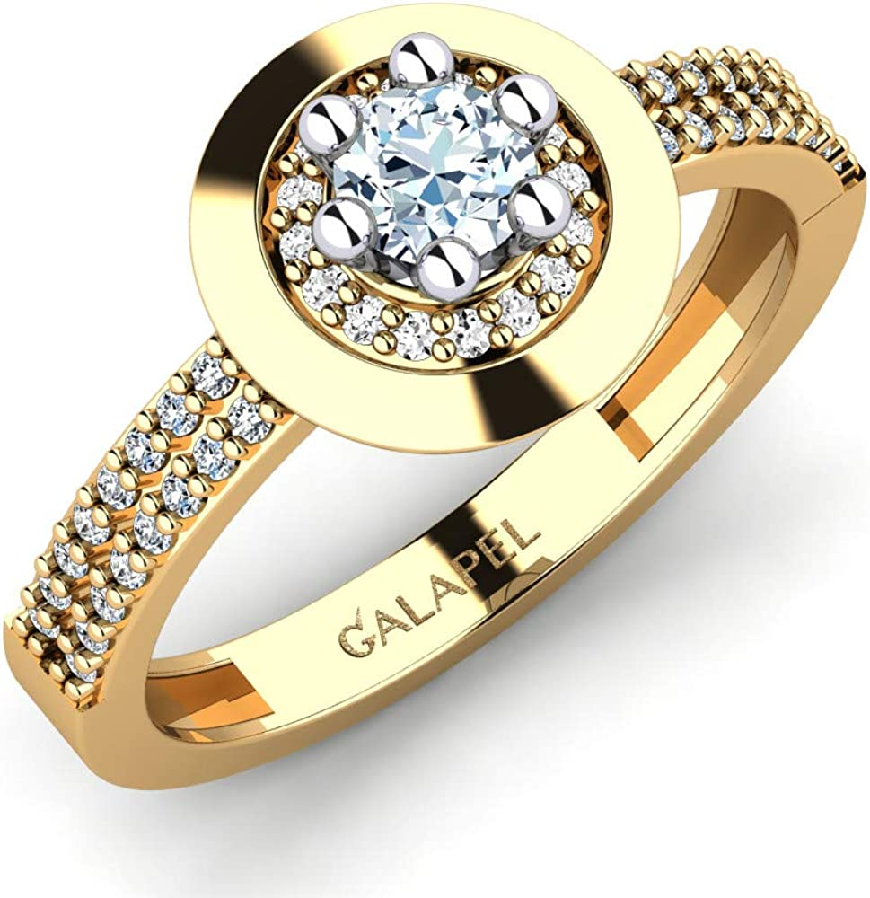 Galapel Rosionte Philadelphia Factory outlet Mall Personalized Ring for Wo Stacking Wedding Women