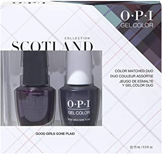 OPI OPI Scotland Collection, GelColor & Nail Lacquer duo pack, 1 fl. oz.