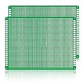 三井 両面2.54ミリメートルピッチPCBユニバーサル基板(12センチメートルX 18センチメートル)