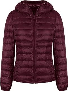 Lightweight Down Jacket Women's Short Packable Ultra Down Jacket