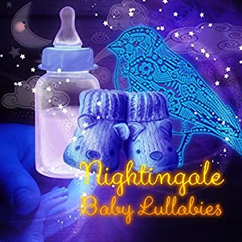Nightingale - Baby Lullabies, Calm Music with Nature Sounds to Calm Down and Fall Asleep, Sleep Aid, White Noise