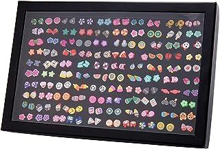 Pendientes para niñas, Comius 100 Pares Hecho a mano Hipoalergénico Color mezclado Cerámica suave Animales Pendientes de b...