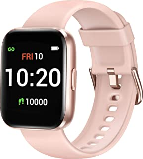 Letsfit Smart Watch for Android Phones Compatible with iPhone Samsung, Fitness Tracker with Blood...