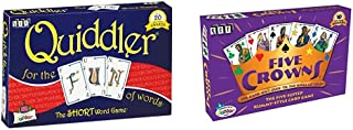 Quiddler Word Game & Five Crowns Card Game