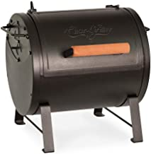 Char-Griller E22424 Table Top Charcoal Grill and Side Fire Box, Black (Renewed)