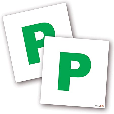 Fully Magnetic L /& P Plates for New and Recent Trained Drivers 2 Pack L Plates and 2 Pack P Plates