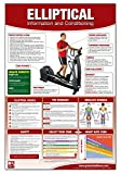 Elliptical Machine Chart/Poster: Elliptical Machine, Cardio workout, Fitness Equipment poster, Cardio poster, Exercise Machine poster, Exercise ... Elliptical Training, Elliptical Trainer