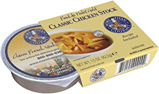 More Than Gourmet Fond De Poulet Gold Chicken Stock, 1.5-Ounce Packages (Pack of 6)