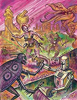 Mutant Crawl Classics RPG: #0 Judge`s Screen