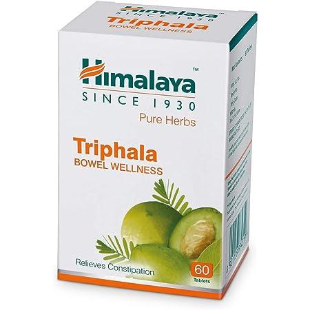 Himalaya Wellness Triphala Bowel Wellness |Relieves constipation| - 60 Tablets
