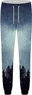 KYKU Unisex 3D Pants Hip Hop Sweatpants Sports Joggers Printed Casual Trousers