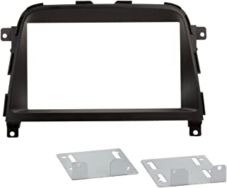 Scosche GM1481B Compatible with 1973-87 GM Full Size Truck DIN Dash Kit Black