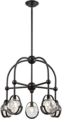 Amazon.com: Quoizel kdn5004 Kayden 4 luz Single Tier ...