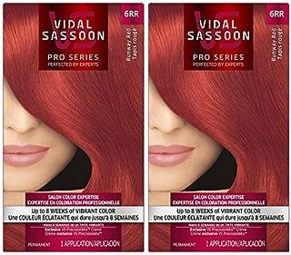 Vidal Sassoon London Luxe Hair Color, Runway Red (6RR), 2 pack by Vidal Sassoon