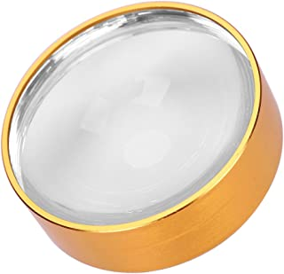 Magnifying Glass 3X Desktop Magnifier Paperweight Reading Magnifier Dome Magnifier Jeweler Loupe Optical Half Ball Lens with Stand for Seniors Reading Book Maps Hobbies Tool for Visual Impairment