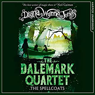 The Spellcoats     The Dalemark Quartet, Book 3              Written by:                                                                                                                                 Diana Wynne Jones                               Narrated by:                                                                                                                                 Ursula Jones                      Length: 7 hrs and 34 mins     1 rating     Overall 5.0