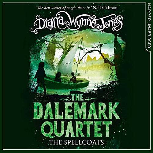 The Spellcoats audiobook cover art