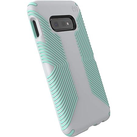 Speck Products Presidio Grip Samsung Galaxy S10e Case, Dolphin Grey/Aloe Green