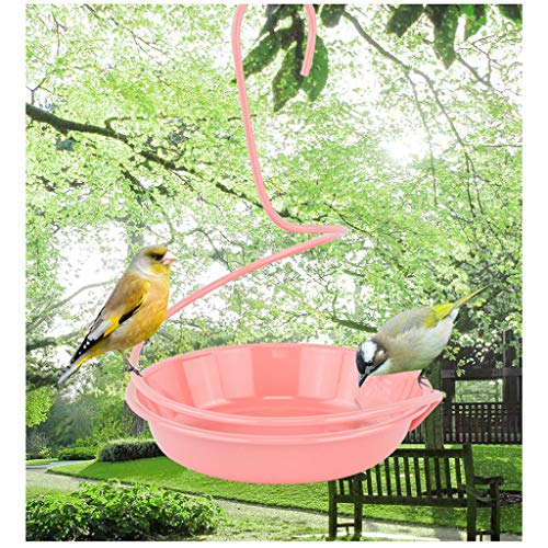Comedero para pájaros Comedero for pájaros Balcón de alimentación de aves de alimentación de agua de aves aparatos comedero jardín comunitario introducción de aves de aves al aire libre dispositivo de
