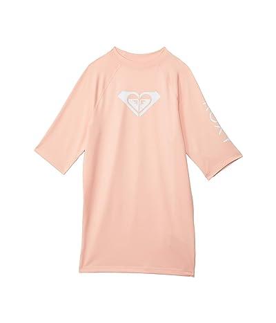 Roxy Kids Whole Hearted Short Sleeve Rashguard (Big Kids)