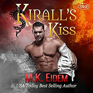 Kirall's Kiss                   By:                                                                                                                                 M.K. Eidem                               Narrated by:                                                                                                                                 Ian Gordon,                                                                                        Jennifer Gill,                                                                                        Griffin Murphy                      Length: 4 hrs and 33 mins     413 ratings     Overall 4.4