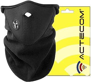 actecom Protector para cara 4090 Mascara Neopreno Cuello de Cara Protección para Moto Bici Ciclismo Esqui Parapente