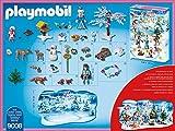 Adventskalender Eislaufprinzessin im Schlosspark, Playmobil 9008 - 3