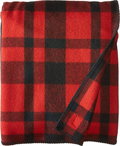 Filson Mackinaw Blanket - Red and Black